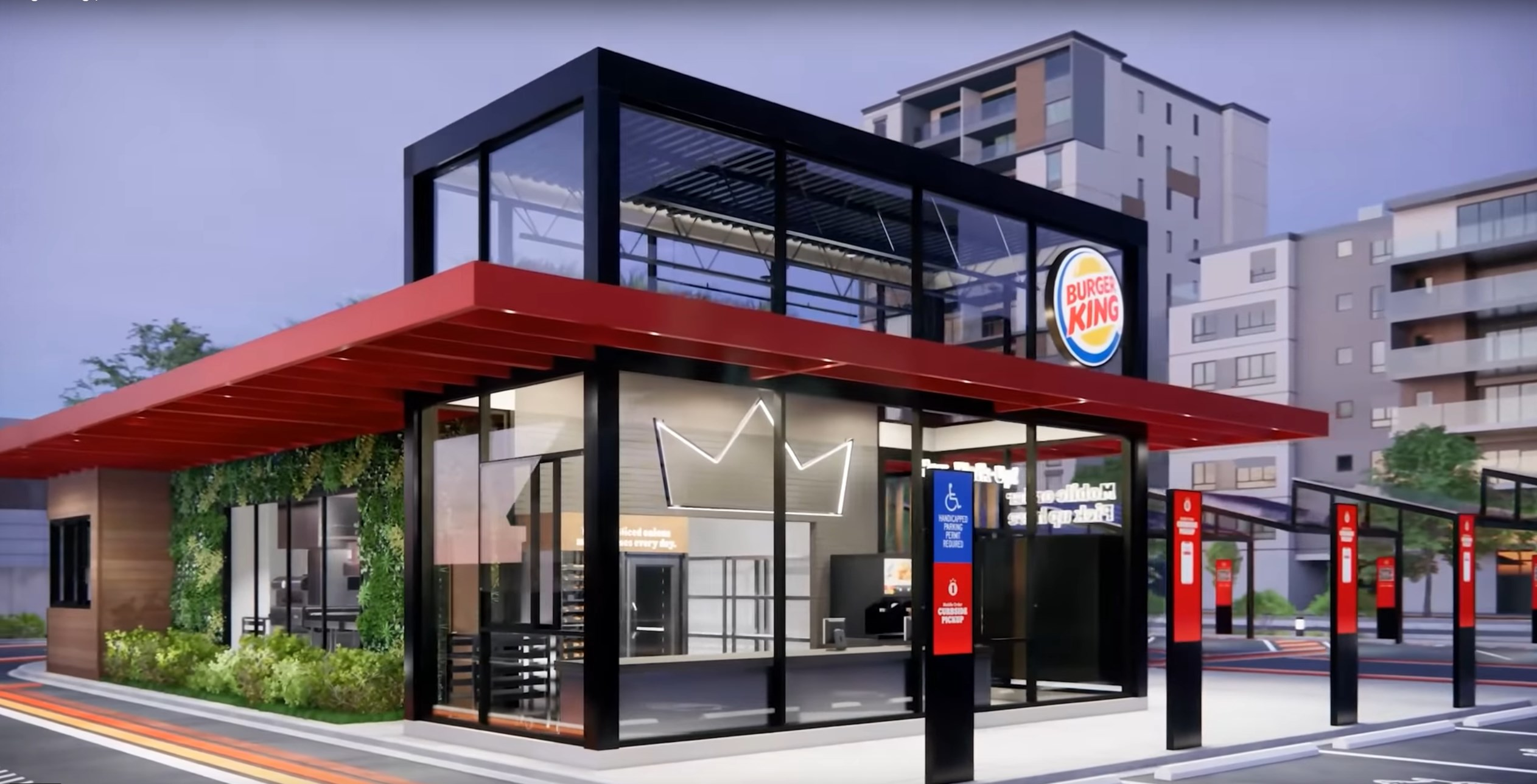 "Burger King ""Restaurant of Tomorrow"""