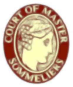 Logo of the Court of Master Sommeliers - blurred